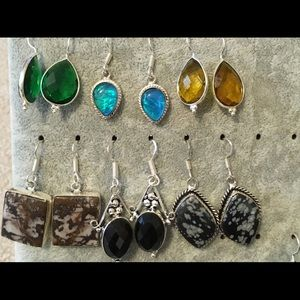 Jewelry - Today only! 6 new Sterling Silver 925 Earrings